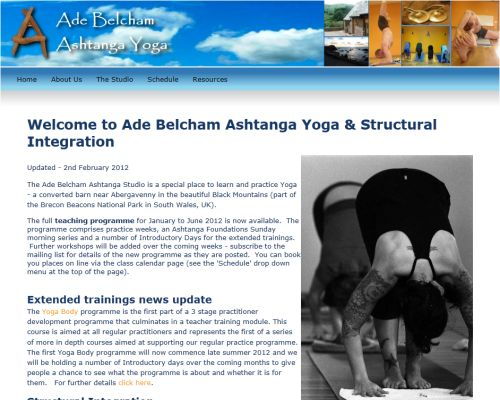 Ade Belcham Ashtanga Screenshot