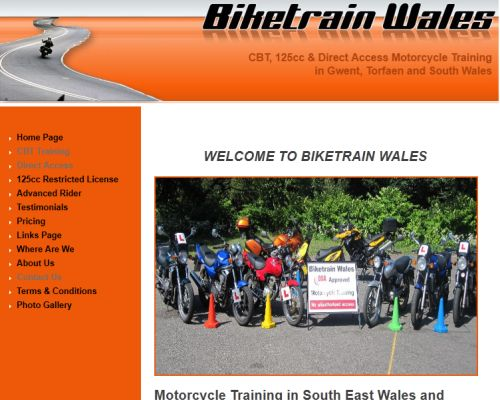 Bike Train Wales Screenshot