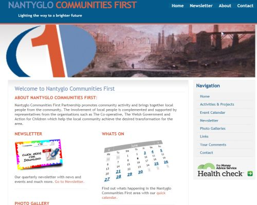 Nantyglo Communities First Screenshot