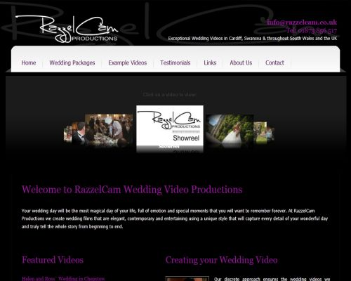 Razzelcam Wedding Video Screenshot