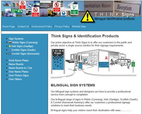 Think Signs Screenshot